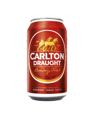 Carlton Draught Can 375ml