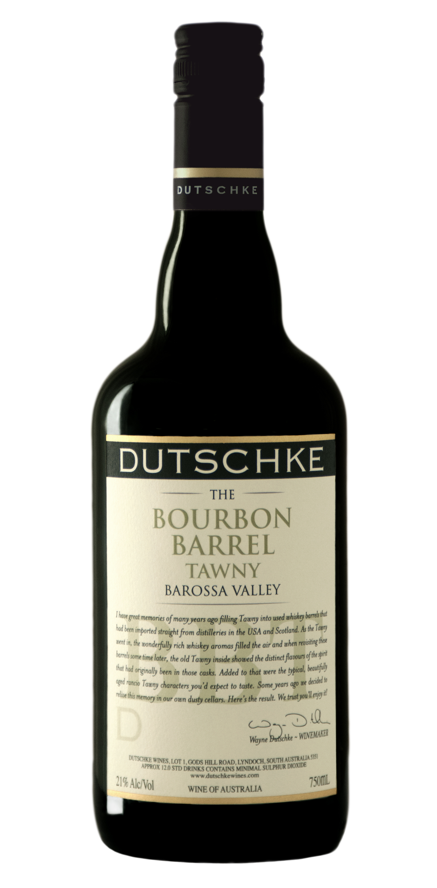 Dutschke Bourbon Barrel Tawny