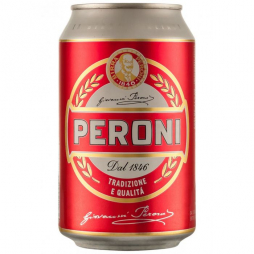 Peroni Red Cans
