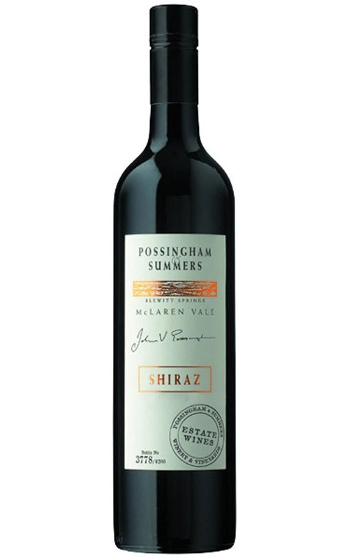 Possingham & Summers Reserve Shiraz